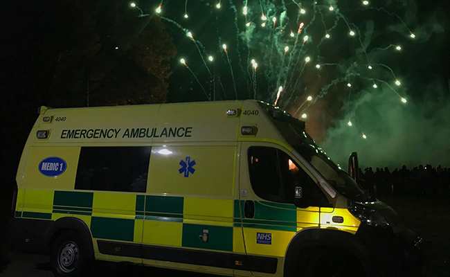 Firework medical cover