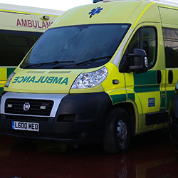 Ambulance Hire Filming